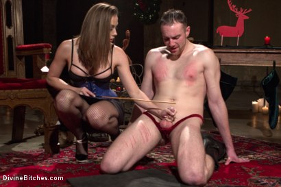 Photo number 1 from A Merry Coerced Cock-Sucking Christmas shot for Divine Bitches on Kink.com. Featuring Jimmy Bullet, Chanel Preston and Jonah Marx in hardcore BDSM & Fetish porn.