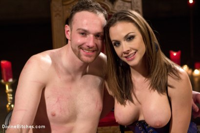Photo number 8 from A Merry Coerced Cock-Sucking Christmas shot for Divine Bitches on Kink.com. Featuring Jimmy Bullet, Chanel Preston and Jonah Marx in hardcore BDSM & Fetish porn.