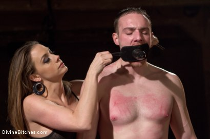 Photo number 15 from A Merry Coerced Cock-Sucking Christmas shot for Divine Bitches on Kink.com. Featuring Jimmy Bullet, Chanel Preston and Jonah Marx in hardcore BDSM & Fetish porn.