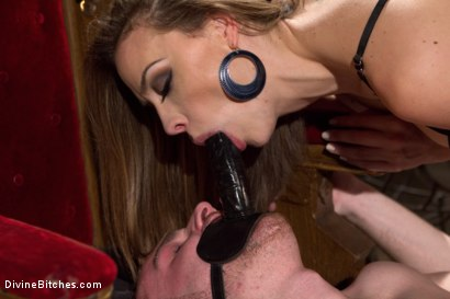 Photo number 10 from A Merry Coerced Cock-Sucking Christmas shot for Divine Bitches on Kink.com. Featuring Jimmy Bullet, Chanel Preston and Jonah Marx in hardcore BDSM & Fetish porn.