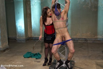Photo number 7 from Divine Queen Lea & Princess Panties shot for Divine Bitches on Kink.com. Featuring Lea Lexis and Corbin Dallas in hardcore BDSM & Fetish porn.