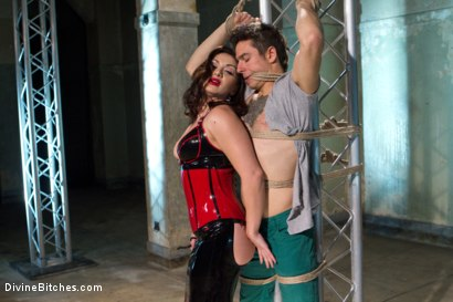 Photo number 1 from Divine Queen Lea & Princess Panties shot for Divine Bitches on Kink.com. Featuring Lea Lexis and Corbin Dallas in hardcore BDSM & Fetish porn.