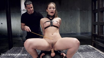 Photo number 10 from Cane Training Dani Daniels, Day Three shot for The Training Of O on Kink.com. Featuring Dani Daniels and Michael Vegas in hardcore BDSM & Fetish porn.