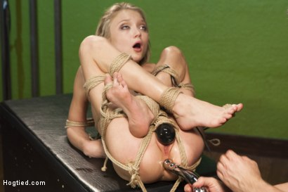 Photo number 14 from The Naive Model and the Creepy Photographer shot for Hogtied on Kink.com. Featuring Dakota Skye in hardcore BDSM & Fetish porn.