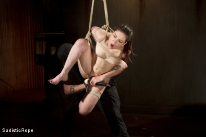 Photo number 15 from Third Time is a Charm. shot for Sadistic Rope on Kink.com. Featuring Juliette March in hardcore BDSM & Fetish porn.