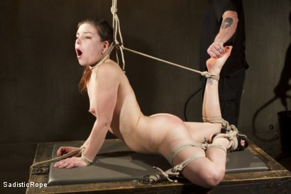Photo number 6 from Third Time is a Charm. shot for Sadistic Rope on Kink.com. Featuring Juliette March in hardcore BDSM & Fetish porn.