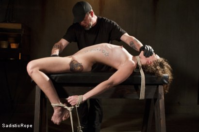Photo number 14 from Tiny Slut, Big Pain!! shot for Sadistic Rope on Kink.com. Featuring Bailey Paige in hardcore BDSM & Fetish porn.