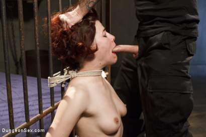 Photo number 7 from First Sex Scene Ever with Bondage!! shot for Dungeon Sex on Kink.com. Featuring Tommy Pistol and Ingrid Mouth in hardcore BDSM & Fetish porn.