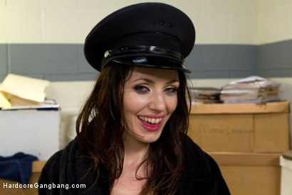 Photo number 13 from Brutality Exposed: Sarah Shevon blackmails Police to Gangbang her! shot for Hardcore Gangbang on Kink.com. Featuring Sarah Shevon, Karlo Karrera, Jon Jon, John Strong, Marco Banderas and D Snoop in hardcore BDSM & Fetish porn.