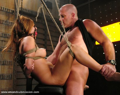 Photo number 10 from Sativa Rose and Mark Davis shot for Sex And Submission on Kink.com. Featuring Mark Davis and Sativa Rose in hardcore BDSM & Fetish porn.