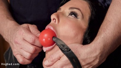 Photo number 2 from Nympho Anal MILF Double Penetration Squirt Fest shot for Hogtied on Kink.com. Featuring Veronica Avluv in hardcore BDSM & Fetish porn.