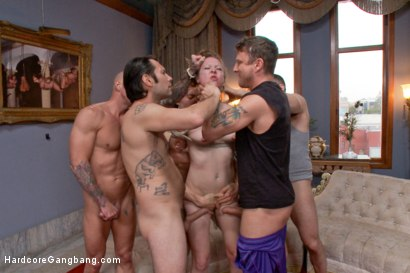 Photo number 12 from Cheating Wife's first EVER gang-bang!!  shot for Hardcore Gangbang on Kink.com. Featuring Kashmir Stone, Astral Dust, Owen Gray, Mr. Pete, Tommy Pistol and John Strong in hardcore BDSM & Fetish porn.