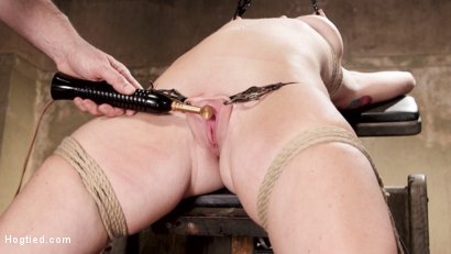 Photo number 9 from Redhead Take Down shot for Hogtied on Kink.com. Featuring Sophia Locke in hardcore BDSM & Fetish porn.