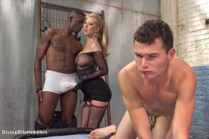 Photo number 4 from Interracial Cuckolding shot for Divine Bitches on Kink.com. Featuring Cherry Torn, Micky Mackenzie and Jason Brown in hardcore BDSM & Fetish porn.