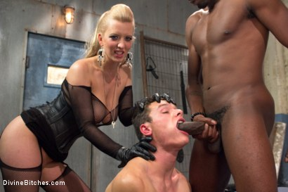 Photo number 15 from Interracial Cuckolding shot for Divine Bitches on Kink.com. Featuring Cherry Torn, Micky Mackenzie and Jason Brown in hardcore BDSM & Fetish porn.