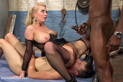 Photo number 8 from Interracial Cuckolding shot for Divine Bitches on Kink.com. Featuring Cherry Torn, Micky Mackenzie and Jason Brown in hardcore BDSM & Fetish porn.