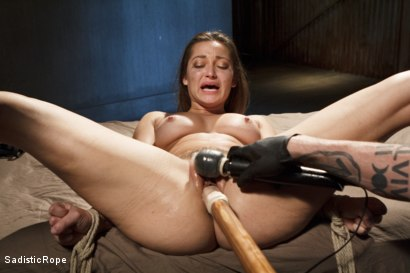 Photo number 12 from Dani Daniels DE-FUCKING-STROYED!!! shot for Sadistic Rope on Kink.com. Featuring Dani Daniels in hardcore BDSM & Fetish porn.