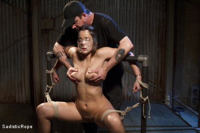 Photo number 7 from Dani Daniels DE-FUCKING-STROYED!!! shot for Sadistic Rope on Kink.com. Featuring Dani Daniels in hardcore BDSM & Fetish porn.
