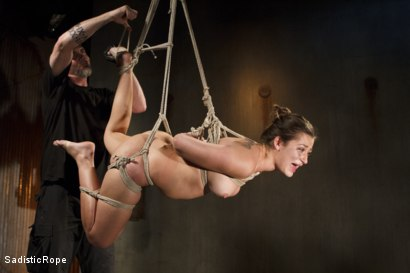 Photo number 10 from Dani Daniels DE-FUCKING-STROYED!!! shot for Sadistic Rope on Kink.com. Featuring Dani Daniels in hardcore BDSM & Fetish porn.