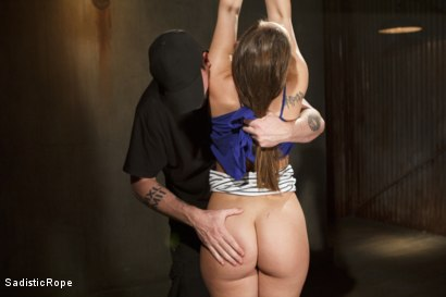 Photo number 2 from Dani Daniels DE-FUCKING-STROYED!!! shot for Sadistic Rope on Kink.com. Featuring Dani Daniels in hardcore BDSM & Fetish porn.