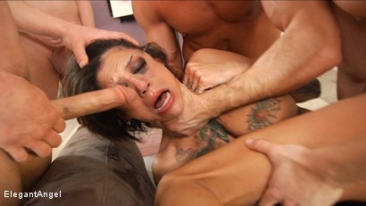 Photo number 14 from Massive Facials 6 shot for Elegant Angel on Kink.com. Featuring Bonnie Rotten in hardcore BDSM & Fetish porn.