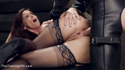 Photo number 12 from Anal MILF Pussy Punishment and Double Anal shot for The Training Of O on Kink.com. Featuring Owen Gray and Syren de Mer in hardcore BDSM & Fetish porn.