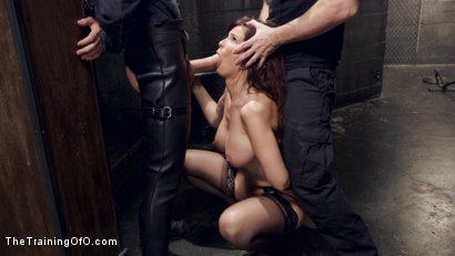 Photo number 3 from Anal MILF Pussy Punishment and Double Anal shot for The Training Of O on Kink.com. Featuring Owen Gray and Syren de Mer in hardcore BDSM & Fetish porn.