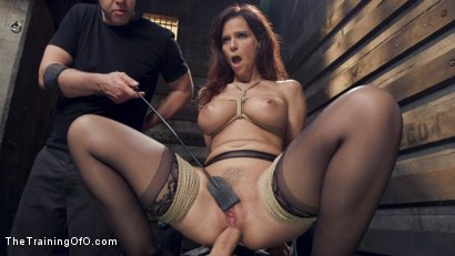 Photo number 9 from Anal MILF Pussy Punishment and Double Anal shot for The Training Of O on Kink.com. Featuring Owen Gray and Syren de Mer in hardcore BDSM & Fetish porn.