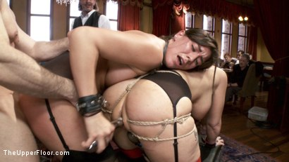 Photo number 7 from A MILF and Cookies Brunch shot for The Upper Floor on Kink.com. Featuring John Strong, Rilynn Rae and Syren de Mer in hardcore BDSM & Fetish porn.