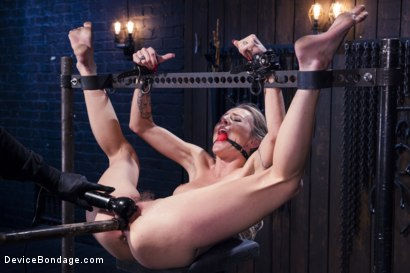 Photo number 12 from Encased, Restrained and Tormented!! shot for Device Bondage on Kink.com. Featuring Natasha Starr in hardcore BDSM & Fetish porn.