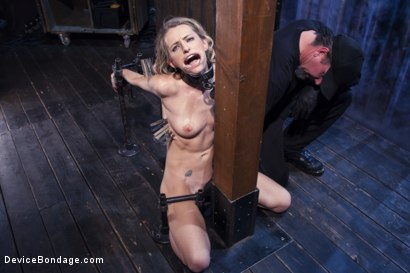 Photo number 5 from Encased, Restrained and Tormented!! shot for Device Bondage on Kink.com. Featuring Natasha Starr in hardcore BDSM & Fetish porn.