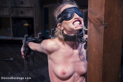 Photo number 7 from Encased, Restrained and Tormented!! shot for Device Bondage on Kink.com. Featuring Natasha Starr in hardcore BDSM & Fetish porn.