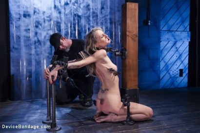 Photo number 14 from Encased, Restrained and Tormented!! shot for Device Bondage on Kink.com. Featuring Natasha Starr in hardcore BDSM & Fetish porn.