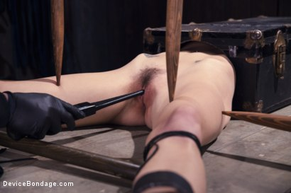 Photo number 2 from Encased, Restrained and Tormented!! shot for Device Bondage on Kink.com. Featuring Natasha Starr in hardcore BDSM & Fetish porn.