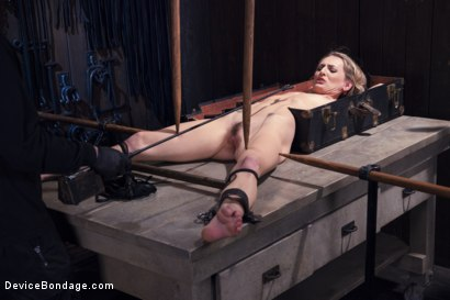 Photo number 3 from Encased, Restrained and Tormented!! shot for Device Bondage on Kink.com. Featuring Natasha Starr in hardcore BDSM & Fetish porn.
