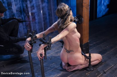 Photo number 8 from Encased, Restrained and Tormented!! shot for Device Bondage on Kink.com. Featuring Natasha Starr in hardcore BDSM & Fetish porn.