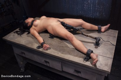 Photo number 15 from Hot Asian, Hard Steel, Brutal Torment, and Extreme Orgasms! shot for Device Bondage on Kink.com. Featuring Orlando and Mia Little in hardcore BDSM & Fetish porn.