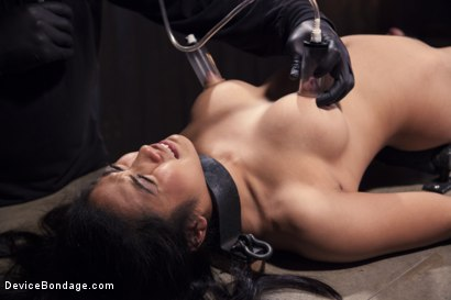 Photo number 10 from Hot Asian, Hard Steel, Brutal Torment, and Extreme Orgasms! shot for Device Bondage on Kink.com. Featuring Orlando and Mia Li in hardcore BDSM & Fetish porn.