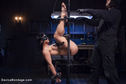 Photo number 14 from Hot Asian, Hard Steel, Brutal Torment, and Extreme Orgasms! shot for Device Bondage on Kink.com. Featuring Orlando and Mia Li in hardcore BDSM & Fetish porn.