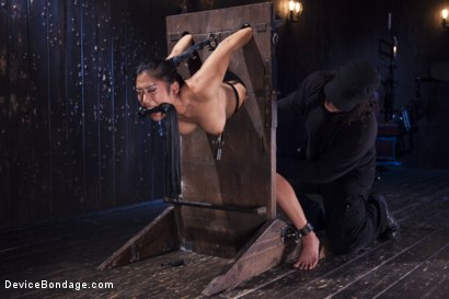 Photo number 2 from Hot Asian, Hard Steel, Brutal Torment, and Extreme Orgasms! shot for Device Bondage on Kink.com. Featuring Orlando and Mia Li in hardcore BDSM & Fetish porn.