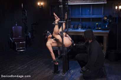 Photo number 8 from Hot Asian, Hard Steel, Brutal Torment, and Extreme Orgasms! shot for Device Bondage on Kink.com. Featuring Orlando and Mia Li in hardcore BDSM & Fetish porn.