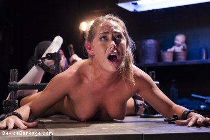 Photo number 15 from Strict Devices, Fear Play, Brutal Torment, Shock Therapy, Mind Blowing Orgasms!!! shot for Device Bondage on Kink.com. Featuring Carter Cruise in hardcore BDSM & Fetish porn.