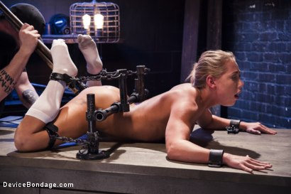 Photo number 7 from Strict Devices, Fear Play, Brutal Torment, Shock Therapy, Mind Blowing Orgasms!!! shot for Device Bondage on Kink.com. Featuring Carter Cruise in hardcore BDSM & Fetish porn.