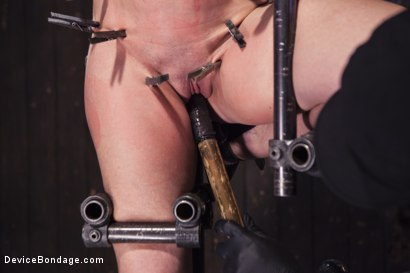 Photo number 10 from MILF gets tormented and machine fucked shot for Device Bondage on Kink.com. Featuring Orlando and Simone Sonay in hardcore BDSM & Fetish porn.