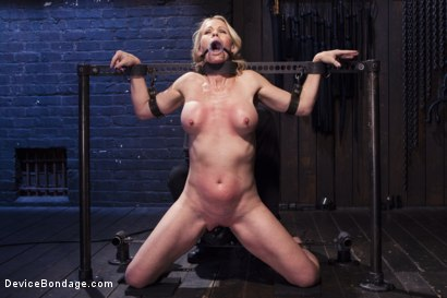 Photo number 9 from MILF gets tormented and machine fucked shot for Device Bondage on Kink.com. Featuring Orlando and Simone Sonay in hardcore BDSM & Fetish porn.