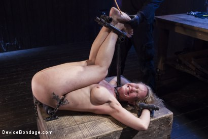 Photo number 11 from MILF gets tormented and machine fucked shot for Device Bondage on Kink.com. Featuring Orlando and Simone Sonay in hardcore BDSM & Fetish porn.