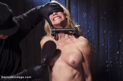 Photo number 12 from MILF gets tormented and machine fucked shot for Device Bondage on Kink.com. Featuring Orlando and Simone Sonay in hardcore BDSM & Fetish porn.