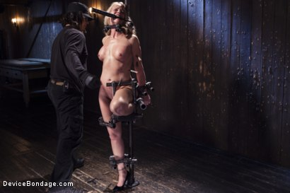 Photo number 14 from MILF gets tormented and machine fucked shot for Device Bondage on Kink.com. Featuring Orlando and Simone Sonay in hardcore BDSM & Fetish porn.
