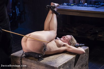 Photo number 15 from MILF gets tormented and machine fucked shot for Device Bondage on Kink.com. Featuring Orlando and Simone Sonay in hardcore BDSM & Fetish porn.