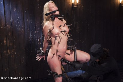 Photo number 1 from MILF gets tormented and machine fucked shot for Device Bondage on Kink.com. Featuring Orlando and Simone Sonay in hardcore BDSM & Fetish porn.